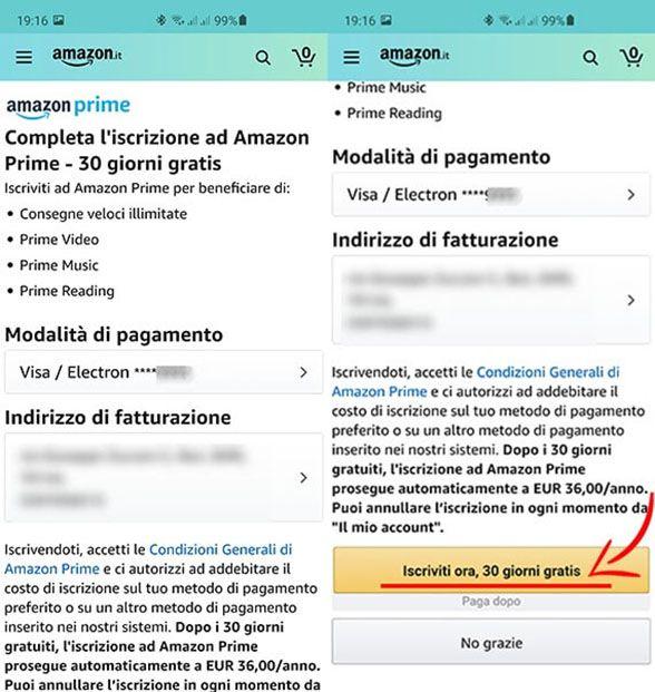 Come Iscriversi Ad Amazon Prime Cateo It